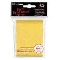 Ultra Pro Sleeves Gelb (60 Hüllen) mini