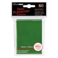 Ultra Pro Sleeves Grün (60 Hüllen) mini