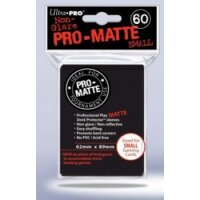 Ultra Pro Sleeves Pro-Matte: Schwarz, matt (60 Hüllen) mini