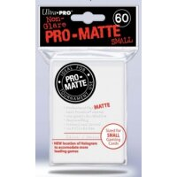 Ultra Pro Sleeves Pro-Matte: Weiss matt (60 Hüllen) mini