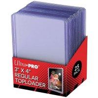 Ultra Pro Regular Toploader (extrem dicke Schutzhüllen) - 25 Stück