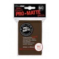 Ultra Pro Sleeves Pro-Matte: Braun matt (60 Hüllen) mini