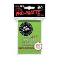 Ultra Pro Sleeves Pro-Matte: Hellgrün matt (60 Hüllen) mini