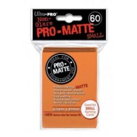 Ultra Pro Sleeves Pro-Matte: Orange matt (60 Hüllen) mini