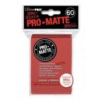 Ultra Pro Sleeves Pro-Matte: Rot matt (60 Hüllen) mini
