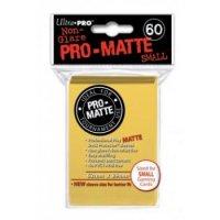 Ultra Pro Sleeves Pro-Matte: Gelb matt (60 Hüllen) mini