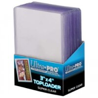 Ultra Pro Super Clear Premium Toploader (extrem dicke Schutzhüllen) - 25 Stück