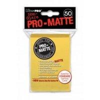 Ultra Pro Sleeves Pro-Matte Non-Glare: Yellow (50 Hüllen)
