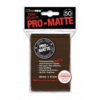 Ultra Pro Sleeves Pro-Matte Non-Glare: Brown (50 Hüllen)