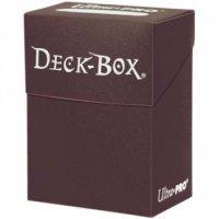 Ultra Pro Deck Box Brown (Braun)