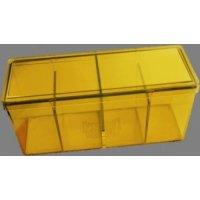 Dragon Shield 4-Fächer Storage Box - GELB