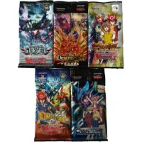 5 verschiedene Cardfight Vanguard Booster
