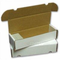 BCW Pappkarton für 940 Karten (BCW 660 Count)