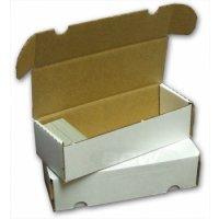 BCW Pappkarton für 800 Karten (550 Count)