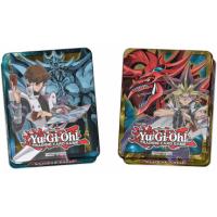 Yugioh Mega Tins 2016 beide Boxen: Yugi & Slifer und Kaiba & Obelisk