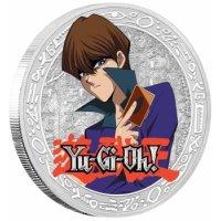 Yu-Gi-Oh! - Seto Kaiba - 1 oz Silbermünze - limitierte Auflage - Polierte Platte *ABSOLUTE SELTENHEIT*
