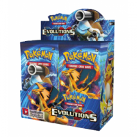 Pokemon XY Set 12: Evolutions Display (englisch) *ABSOLUTE RARITÄT*