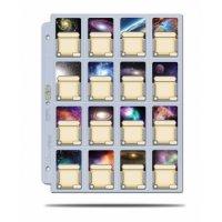 10 Seiten Ultra Pro 16-Pocket Pages Platinum