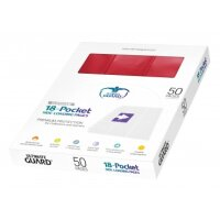 Ultimate Guard 18-Pocket Pages Side-Loading Box Rot (50)