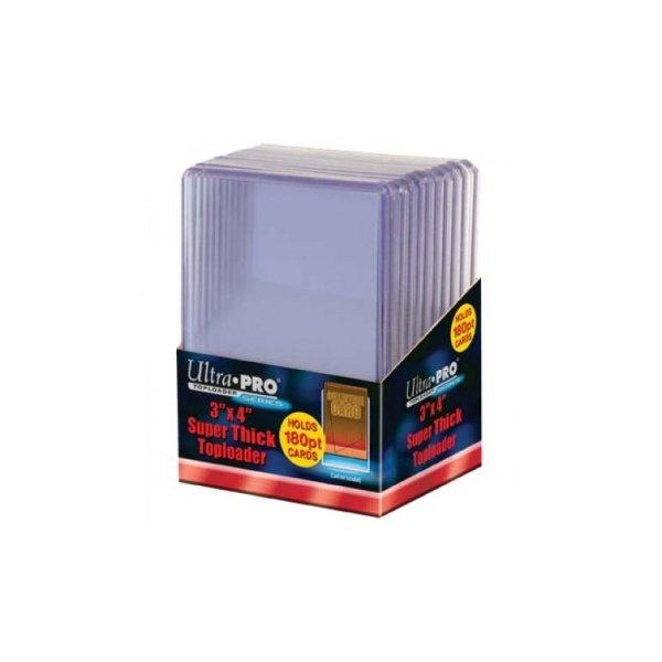 Ultra Pro Super Thick Toploader 3x4 Zoll 180PT (extrem dicke Schutzhüllen)