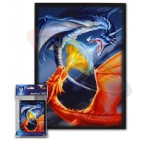 Max Protection Sleeves Fighting Dragons (50 Kartenhüllen)