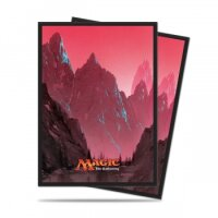 Ultra Pro Magic Sleeves - Mana Mountain (80 Kartenhüllen)