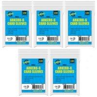 500 Arkero-G Small Soft Sleeves (durchsichtige Kartenhüllen) mini