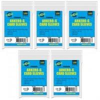 500 Arkero-G Standard Soft Sleeves (durchsichtige Kartenhüllen)