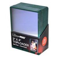 Ultra Pro Green Border Toploader 3x4 Zoll (25 Stück)