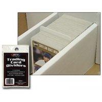 BCW Card Dividers (10 Stück - Weiß)
