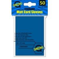 Arkero-G Matt Card Sleeves: Blau (50 Hüllen) Standardgröße