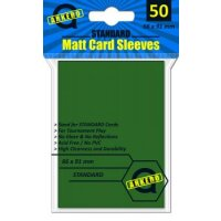 Arkero-G Matt Card Sleeves: Grün (50 Hüllen) Standardgröße