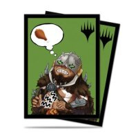 Ultra Pro Magic Sleeves - Chibi Collection: Garruk I'm Starving for Magic (100 Kartenhüllen)