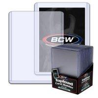 BCW Super Thick Toploader 3x4 Zoll 79PT (extrem dicke Schutzhüllen) - 25 Stück
