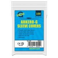 100 Arkero-G Small Sleeve Covers / Hüllen-Schutzhüllen (durchsichtige Kartenhüllen) mini
