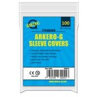 100 Arkero-G Standard Sleeve Covers / Hüllen-Schutzhüllen (durchsichtige Kartenhüllen)