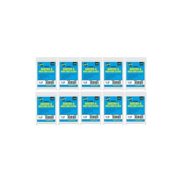 1000 Arkero-G Standard Inner Card Sleeves (innere Kartenhüllen)