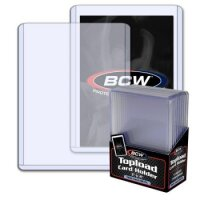 BCW Super Thick Toploader 3x4 Zoll 138PT (extrem dicke Schutzhüllen) - 10 Stück