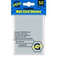 Arkero-G Matt Card Sleeves: Durchsichtig (50 Hüllen) Standardgröße