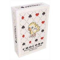 Final Fantasy Chocobo Spielkarten (54er Deck inkl. 2 Joker) für Bridge, Poker, Mau-Mau uvm.