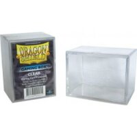 Dragon Shield 100+ Gaming Deck Box Clear (extrem robust!)