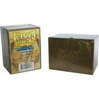 Dragon Shield 100+ Gaming Deck Box Gold (extrem robust!)