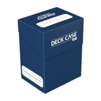 Ultimate Guard Deck Case 80+ Standardgröße Dunkelblau