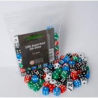 Blackfire 100 Assorted D6 Dice Set - 12 mm