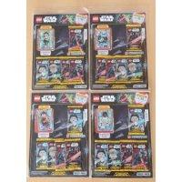 LEGO Star Wars Trading Card Collection alle 4 verschiedenen Multi-Packs