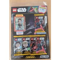 LEGO Star Wars Trading Card Collection Multi-Pack - Rey