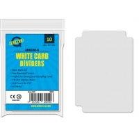 10 Arkero-G Kartentrenner Weiß (10 Card Dividers)