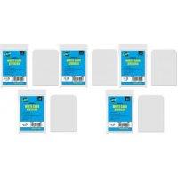 50 Arkero-G Kartentrenner Weiß *Round Corners* (Card Dividers für Aufbewahrungsboxen)
