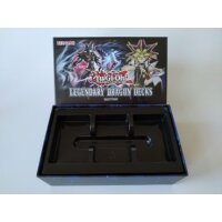 LEERE Yugioh Legendary Dragon Decks Box (ohne Inhalt)