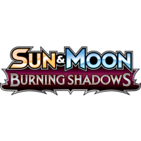 Pokemon Sun and Moon: Burning Shadows Display (englisch)